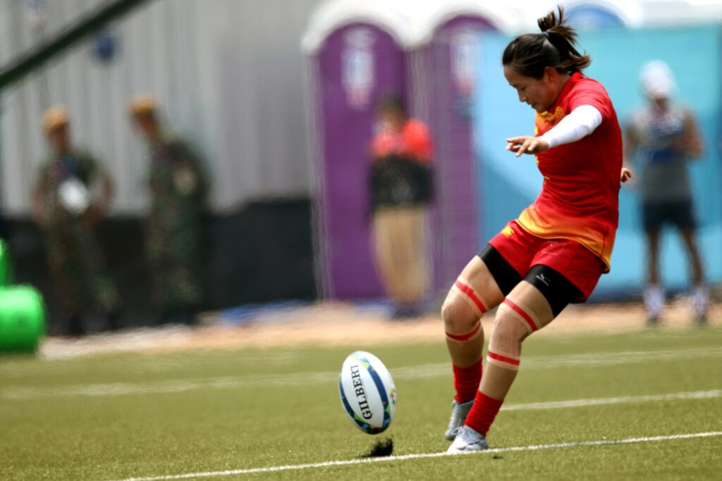 Rugby woman